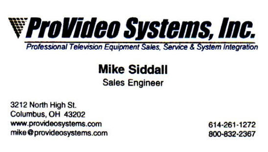 ProVideo Systems, Inc.